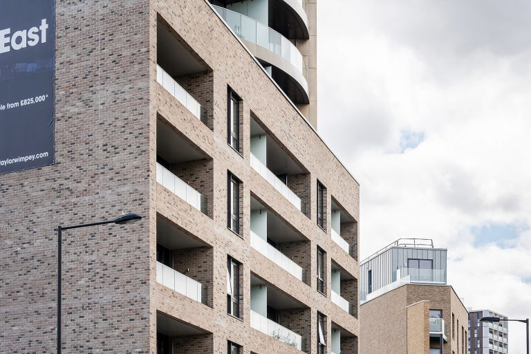 exterior photo of a high rise apartments in london
