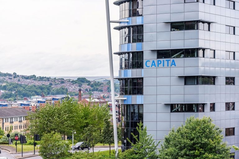 architectural photo of the capita building in sheffield