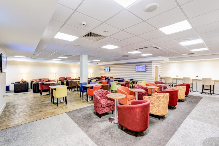 interior photo of doncaster robin hood airport