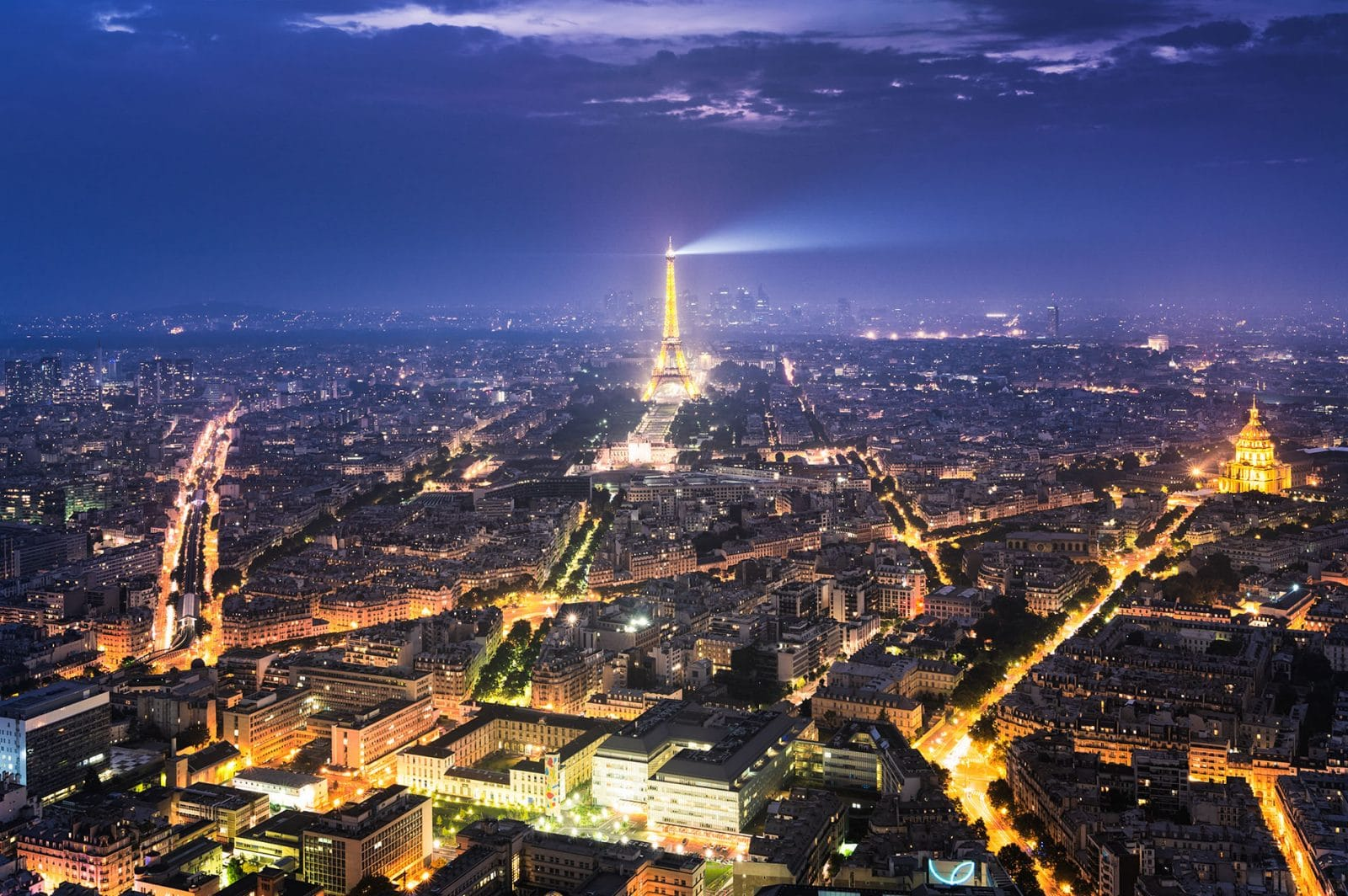 best view of Paris from the MONTPARNASSE TOWER in Paris taken by Ben Harrison photography