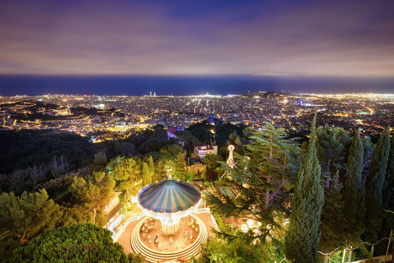 photo overlooking Barcelona, best photo of Barcelona by landscape photographer Ben Harrison photography