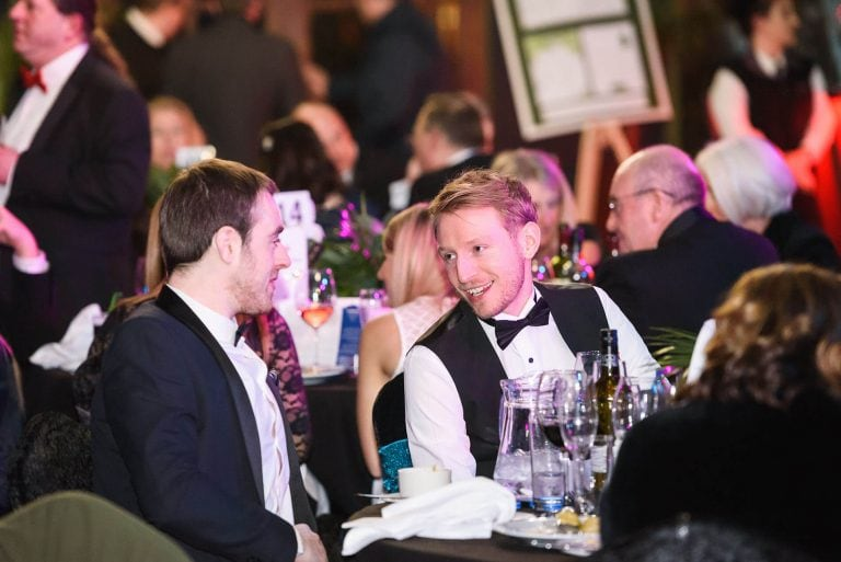 candid moments of people chatting by Event photographer Ben Harrison photography