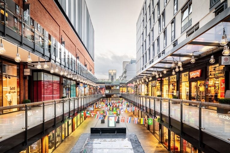 London shopping centre by architectural photographer ben harrison photography