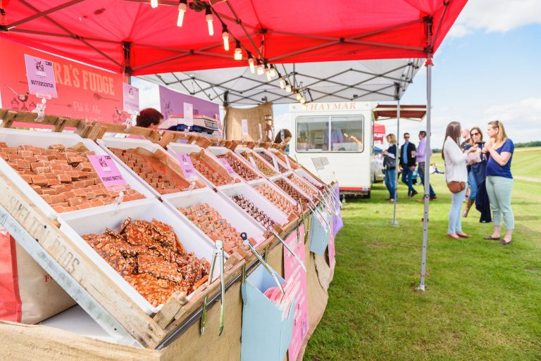 sweet stall at bawtrys polo cup by event photographer Ben harrison photography