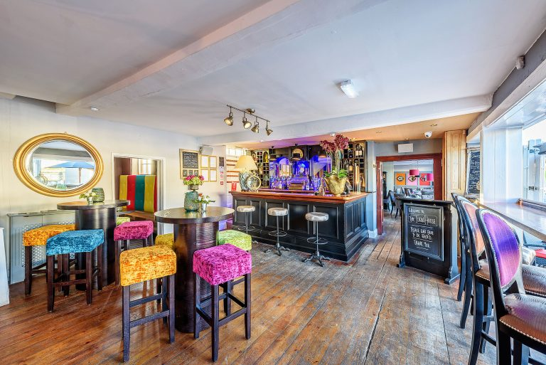 the bar area in the town house in bawtry,