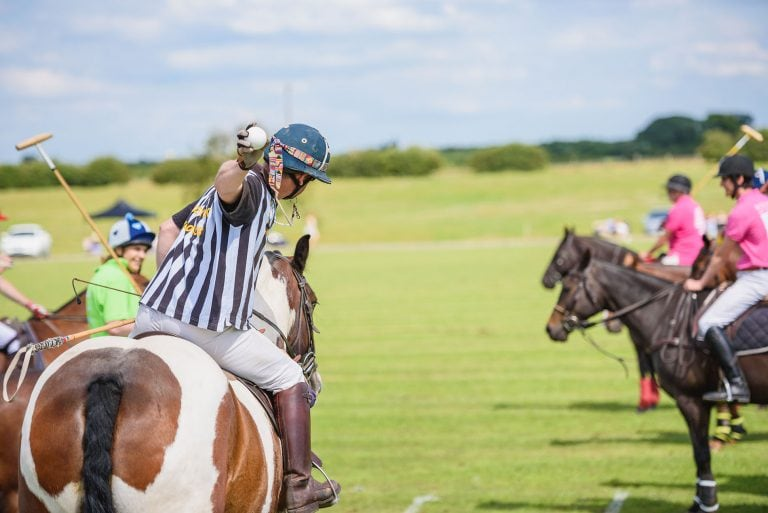 bawtry polo cup photo at the charity event