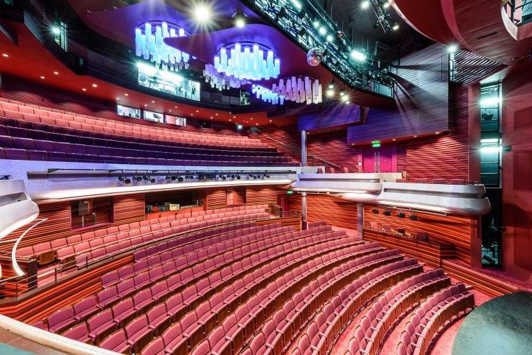 the cast theatre interior in doncaster