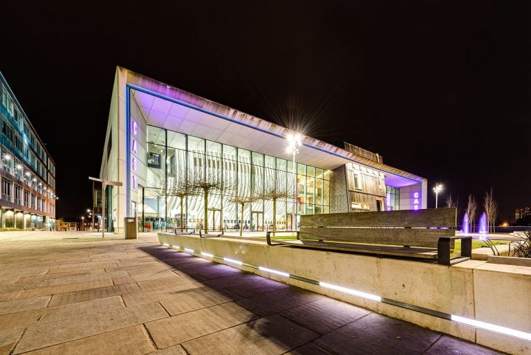 the cast doncaster by architectural photographer ben harrison photography
