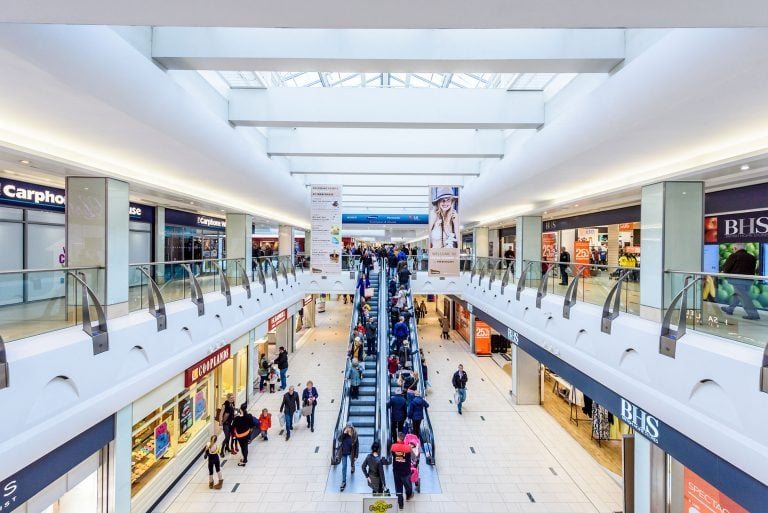 architectural photography of doncaster town centre