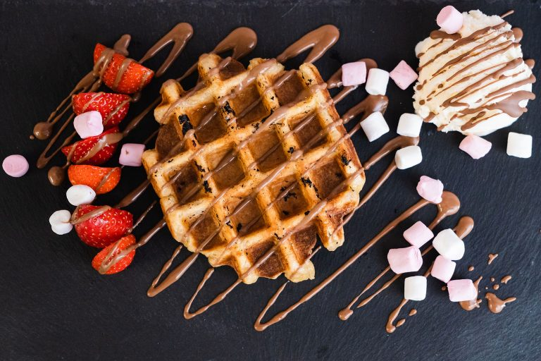 photo of waffles from scrapes in doncaster