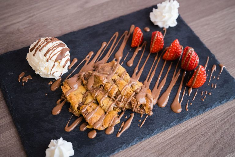 photo of cookie dough from scrapes in doncaster