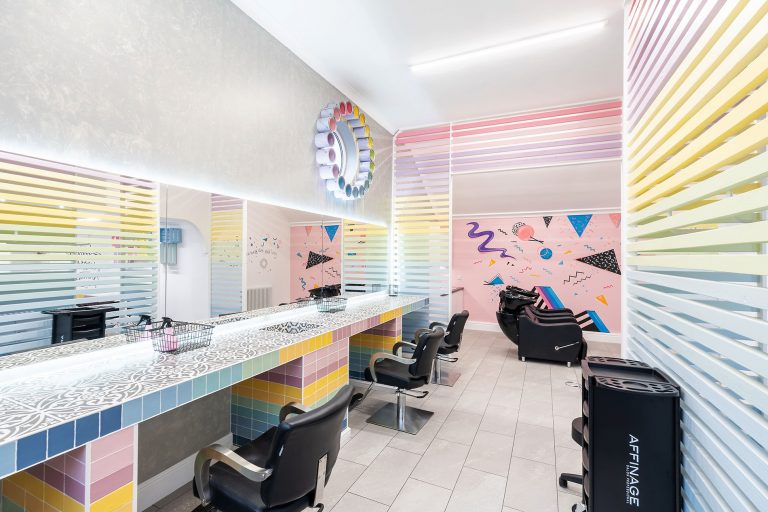 rare hair and beauty salon in doncaster interior photo