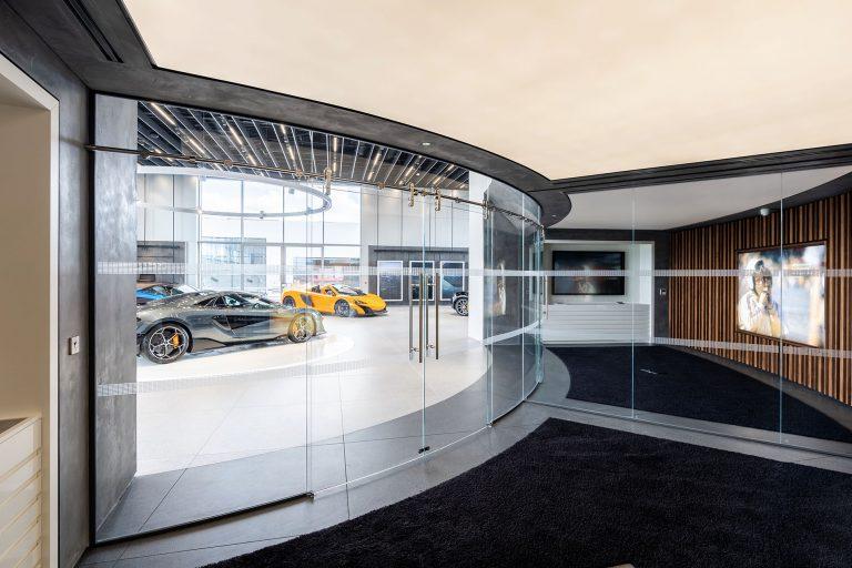 photo of mclaren garage manchester