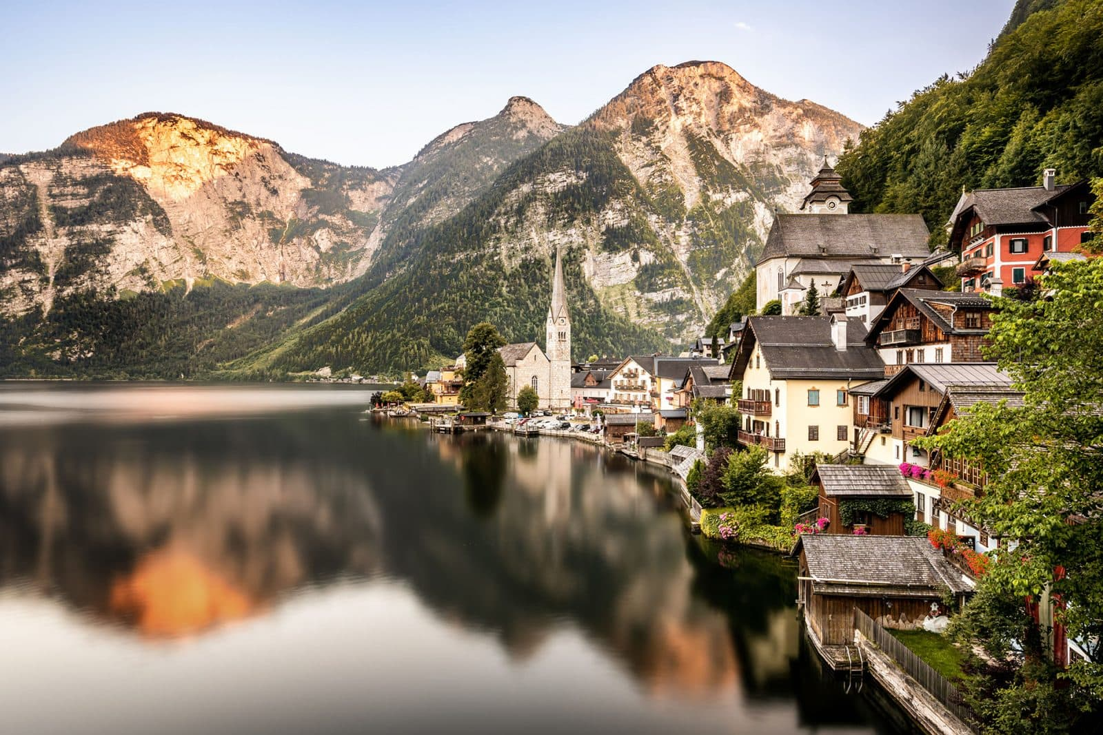 Hallstatt by day - Fine art print