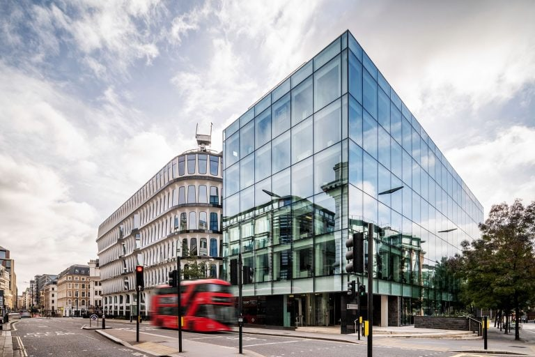 architectural exterior of building in london