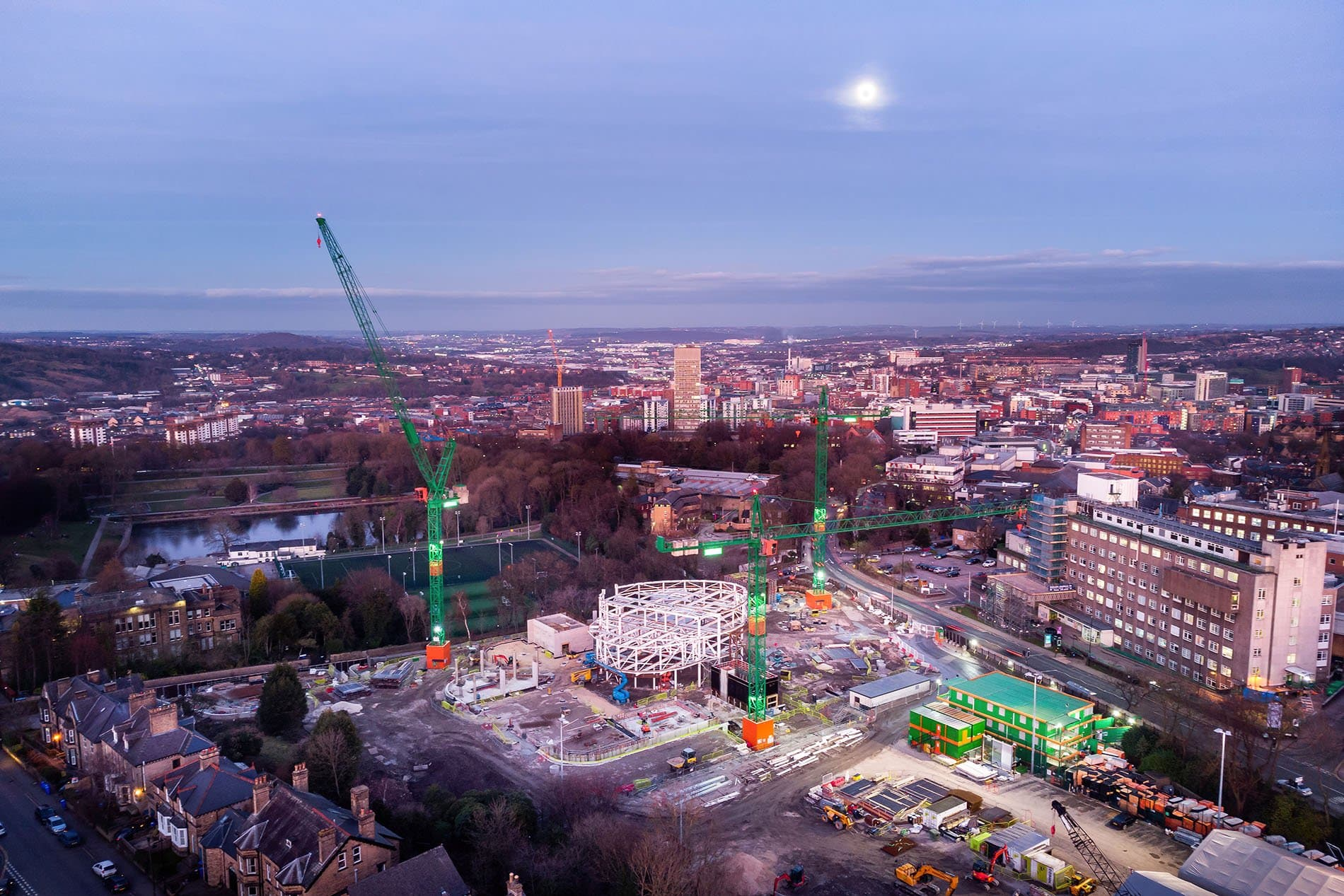 sheffield drone construction