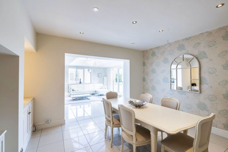 dining room property photography